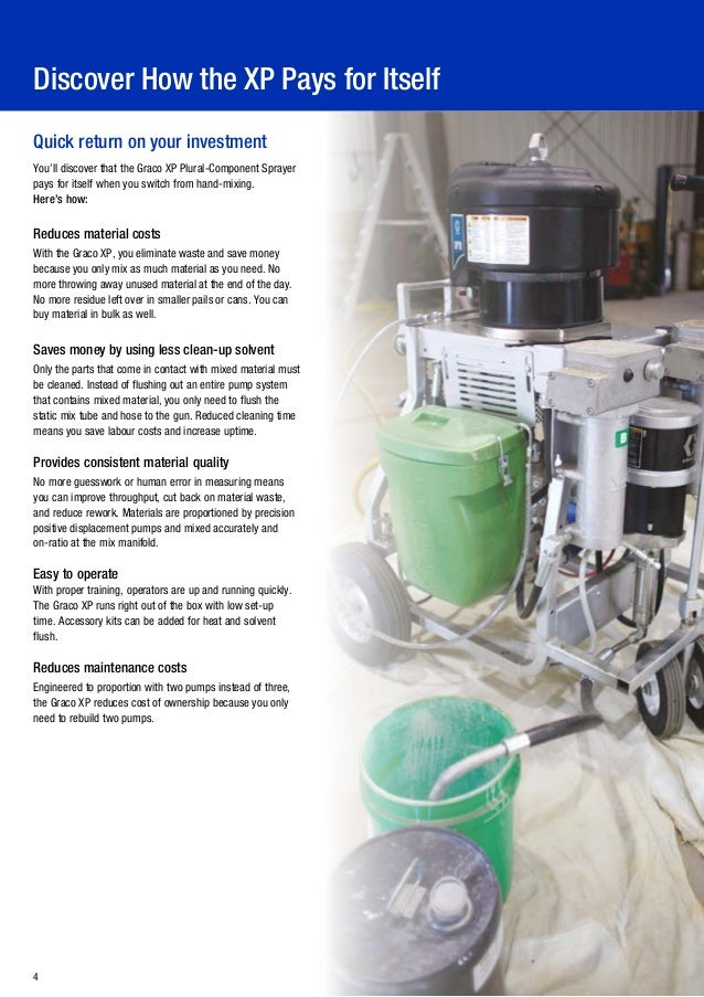 GRACO XP series Plural Component Sprayers by Tosanda Dwi Sapurwa on
