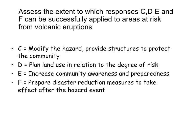 comparing volcano hazard responses Usgs: volcano hazards program - cascades volcano observatory usgs: volcano hazards program cascades volcano observatory news archive.