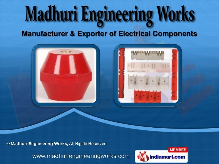Manufacturer & Exporter of Electrical Components