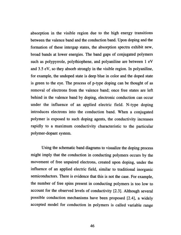 Polyaniline phd thesis law order situation pakistan essay