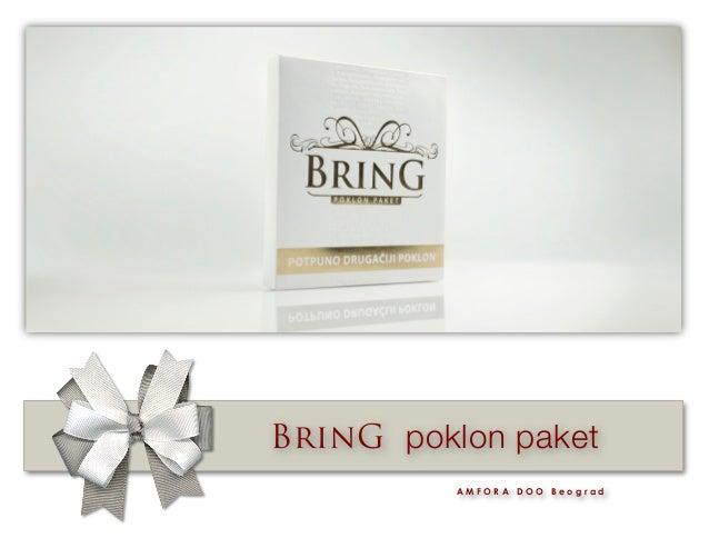 BrinG poklon paket A M F O R A D O O B e o g r a d