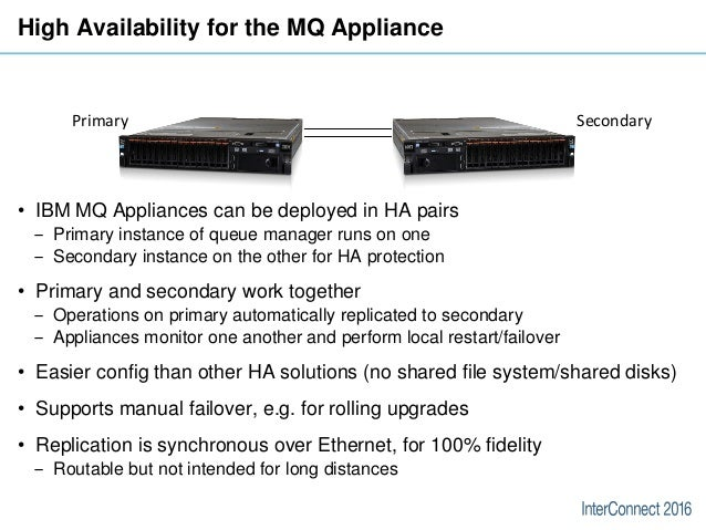 IBM MQ - High Availability and Disaster Recovery