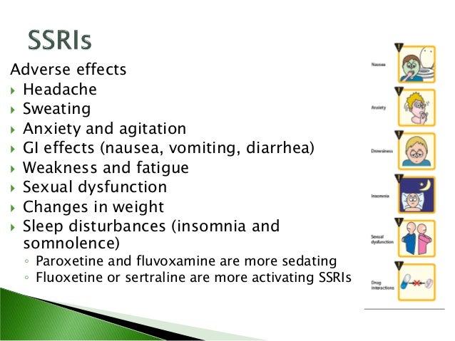More sedating antidepressants in treating
