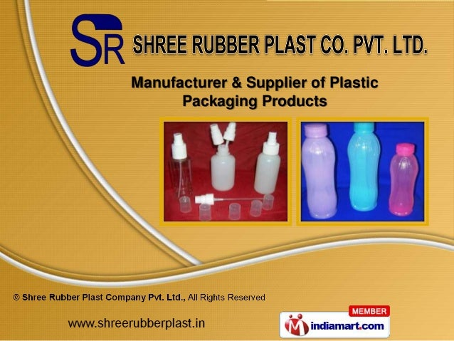 Manufacturer & Supplier of Plastic      Packaging Products