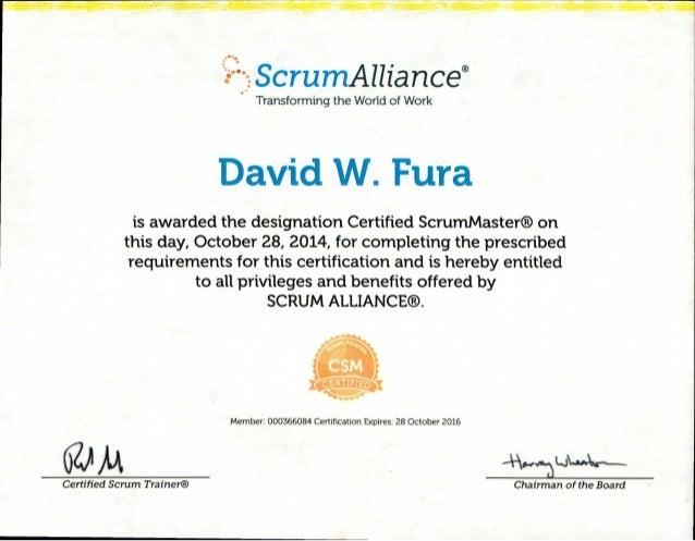 csm certificate slideshare oct2015 upcoming certified