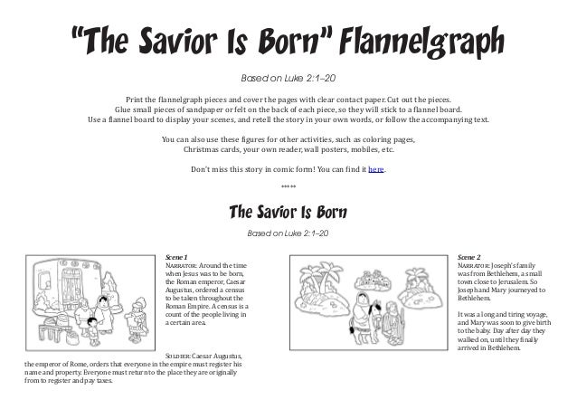 Scene 1 Narrator Around The Time When Jesus Was To Be Born