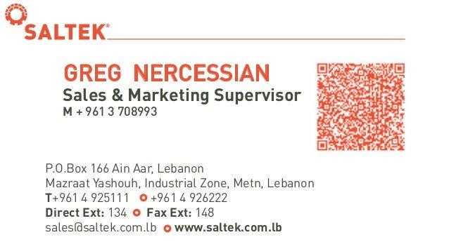 Business card greg nercessian business card greg nercessian pox 166 ain aar lebanon mazraat yashouh industrial zone metn lebanon reheart Images