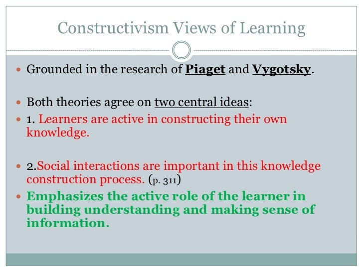 social constructivist theory Chapter 6 social constructivism introduction 162 the rise of constructivism in ir 162 constructivism as social theory 164 constructivist theories of international.