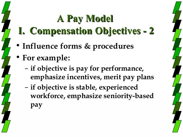 seniority and merit pay Answer to in 300-500 words: define the concept of seniority and merit pay plans, including the strengths and limitations of such p.