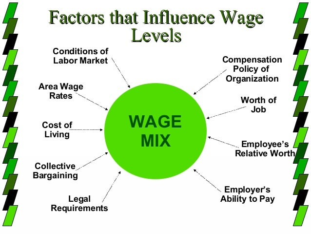 factors that influence internal pay structures Be able to define and discuss the types of pay systems and factors determining the type of pay system used know the laws relating to compensation once you have determined your compensation strategy based on internal and external factors, you will need to evaluate jobs, develop a pay system, and consider pay theories when making decisions.