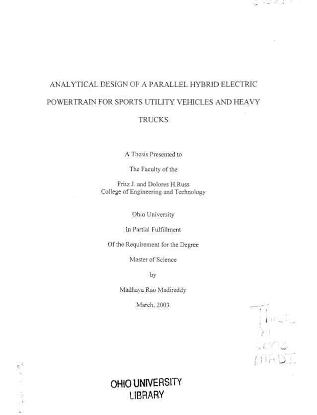 Master thesis parallel computing