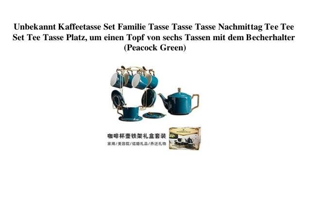 Unbekannt Kaffeetasse Set Familie Tasse Tasse Tasse Nachmittag Tee Tee Set Tee Tasse Platz, um einen Topf von sechs Tassen...