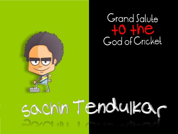 Grand Salute to the God of Cricket