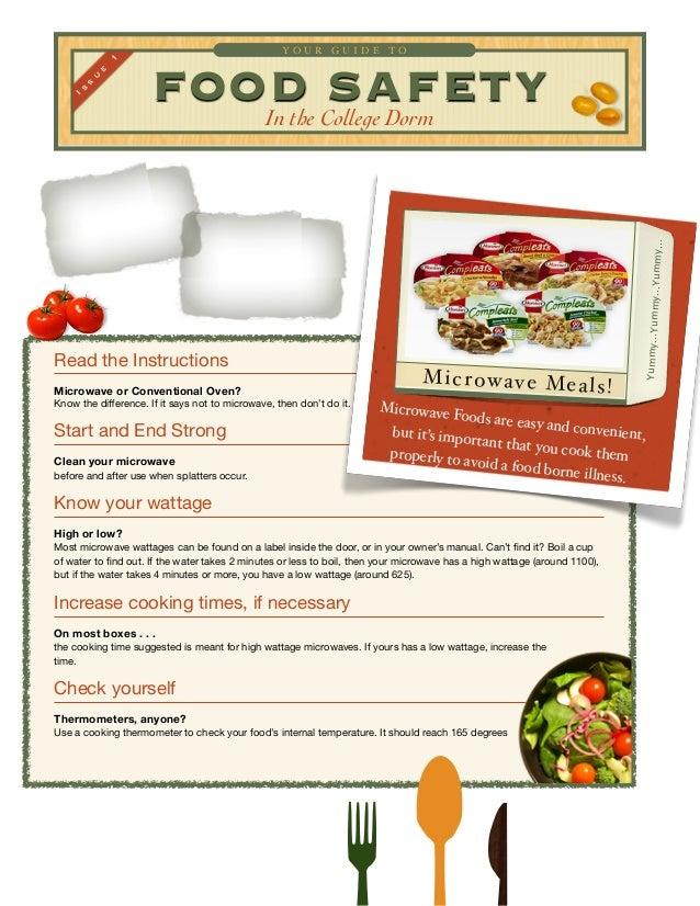 Food Safety Microwave O