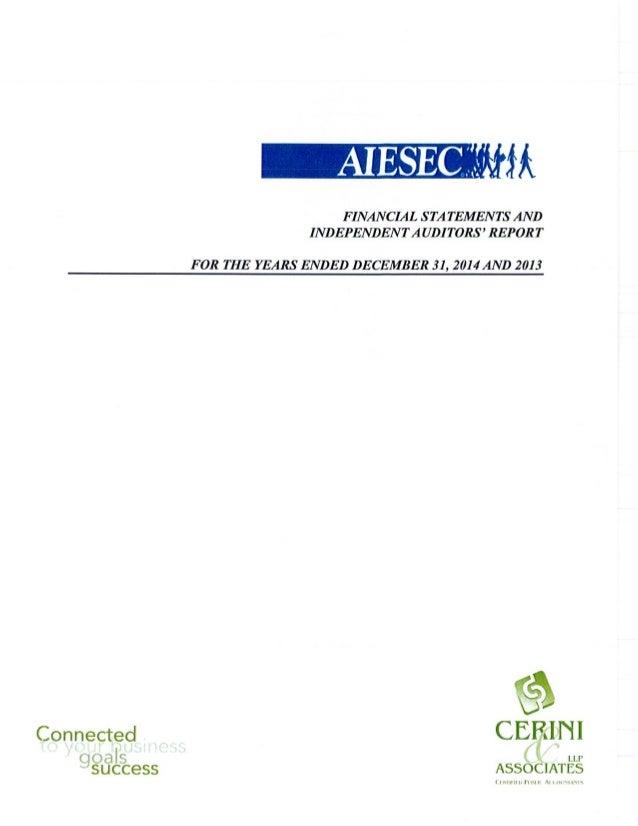 Audit Report 2014