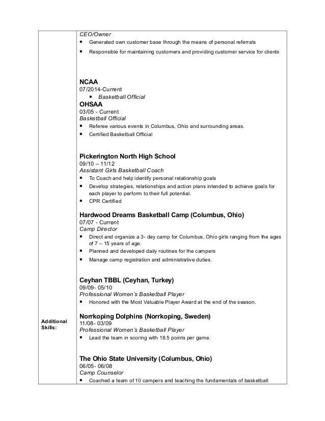 Marscilla Packer Resume 2017