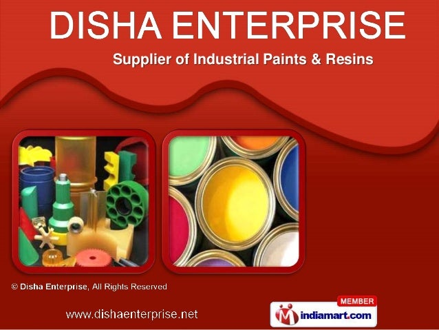 Supplier of Industrial Paints & Resins