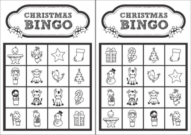 2 - Christmas Bingo