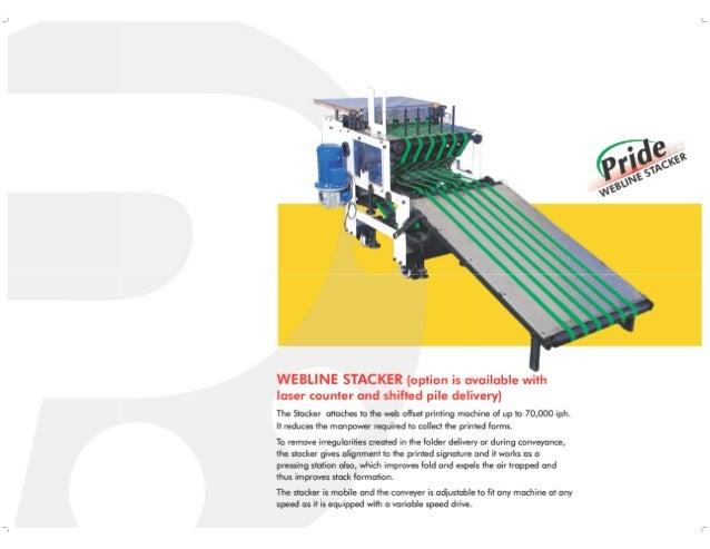 Web Offset STACKER Pramod Engineering India