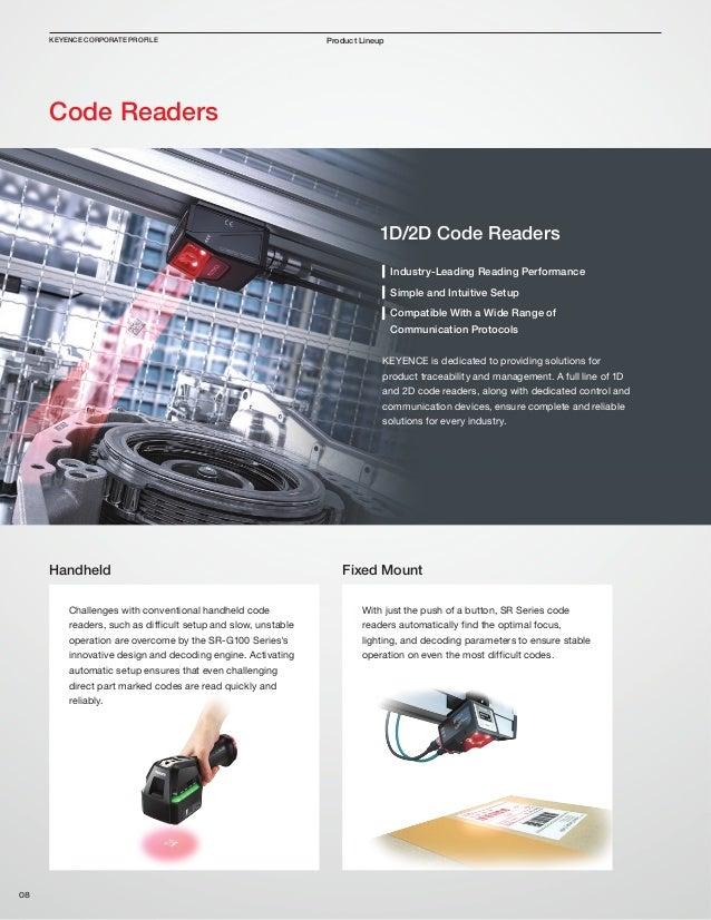 Keyence Company Profile - English