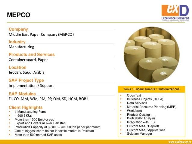 Company Profile SAP and Oracle 2016 1 1