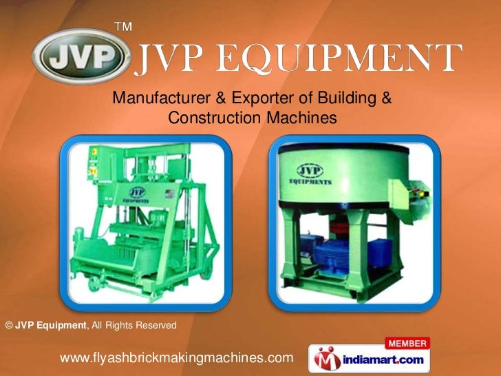 Manufacturer & Exporter of Building & <br />Construction Machines<br />