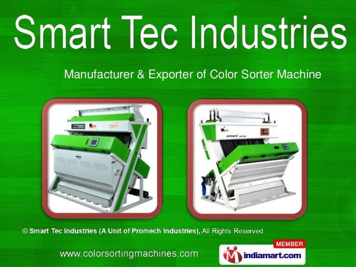 Manufacturer & Exporter of Color Sorter Machine