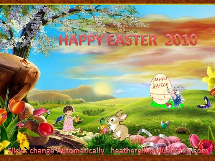 Happy Easter 2010 Slide 1