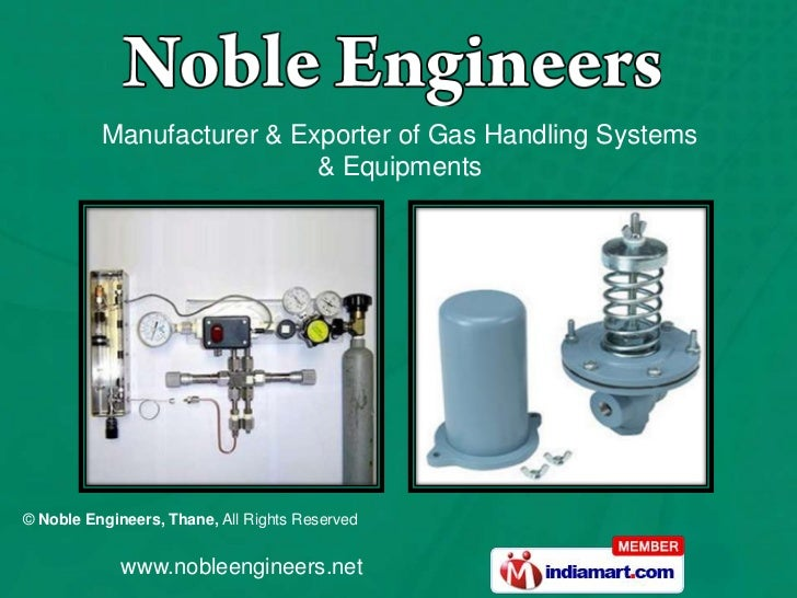 Manufacturer & Exporter of Gas Handling Systems & Equipments<br />