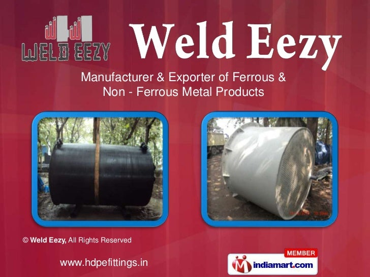 Manufacturer & Exporter of Ferrous & <br />Non - Ferrous Metal Products<br />