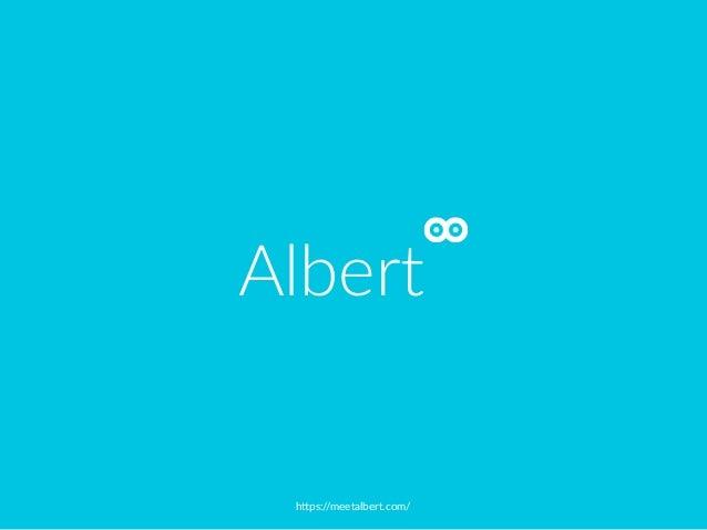 """h""""ps://meetalbert.com/ Albert"""