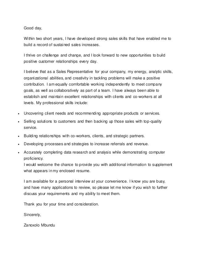 Zanoxolo cover letter for Short sale marketing letter