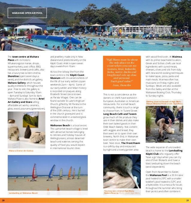 Kapiti Coast Visitors Guide 2017 Website v2