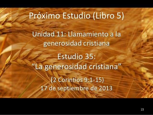 34 El Ejemplo De Cristo  Estudio B U00edblico En 2 Corintios