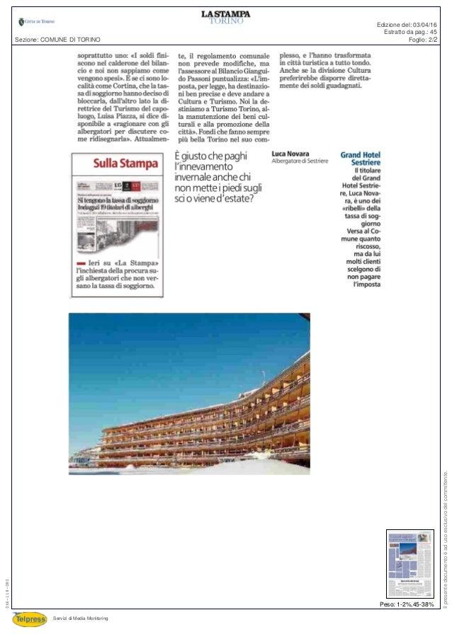 Awesome Tassa Di Soggiorno A Torino Ideas - Design Trends 2017 ...
