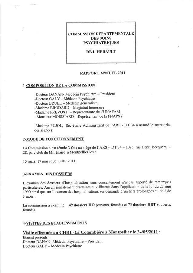 34 rapport activité cdsp 2011
