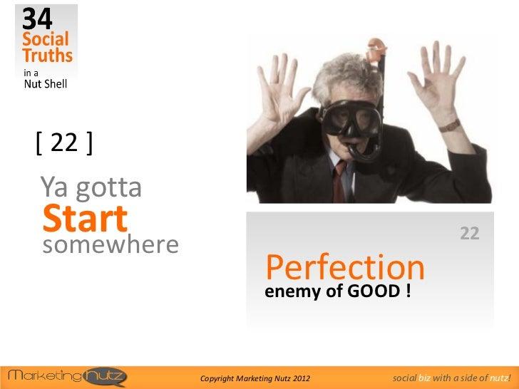 [ 22 ]Ya gottaStart                                                        22somewhere                            Perfecti...