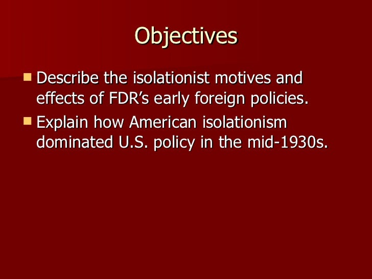 us foreign policy 1919 to 1941 Us society 1919-1941 4 us foreign policy resource list  paul kiem is currently the professional officer for the history teachers' association of nsw.