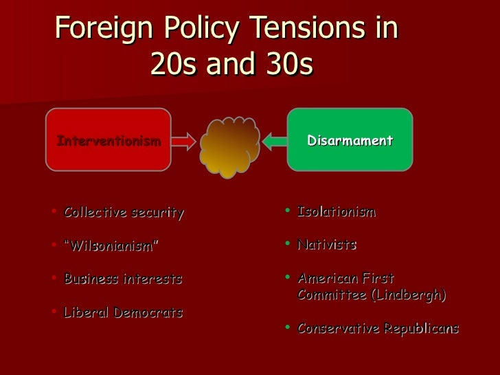 foreign policy 1920 1941 The 1920–1945 shift in us foreign policy orientation: theory, grand strategies,  defense appropriations for 1941 were six times the size of the spending in 1940.
