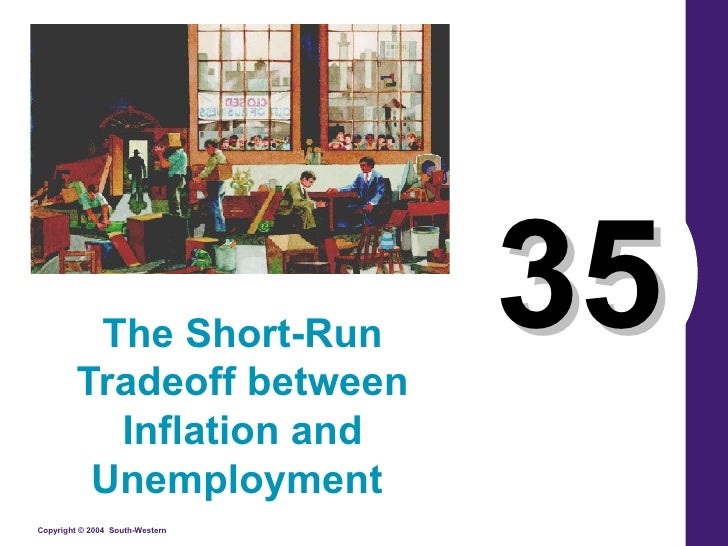 35 The Short-Run Tradeoff between Inflation and Unemployment