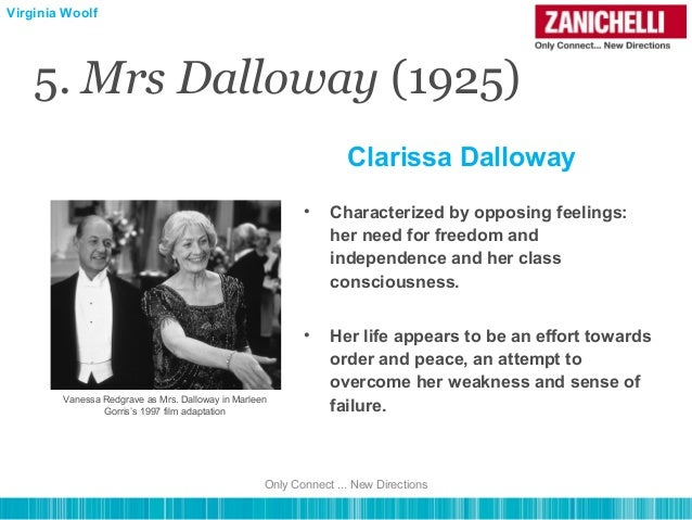 the marriage of clarissa and richard in mrs dalloway by virginia woolf Same age as mrs dalloway  no 1920s equivalent of a racing car for richard clarissa isn't discovering a love for painting and  virginia woolf,.