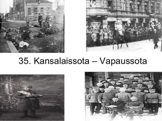 35. Kansalaissota – Vapaussota