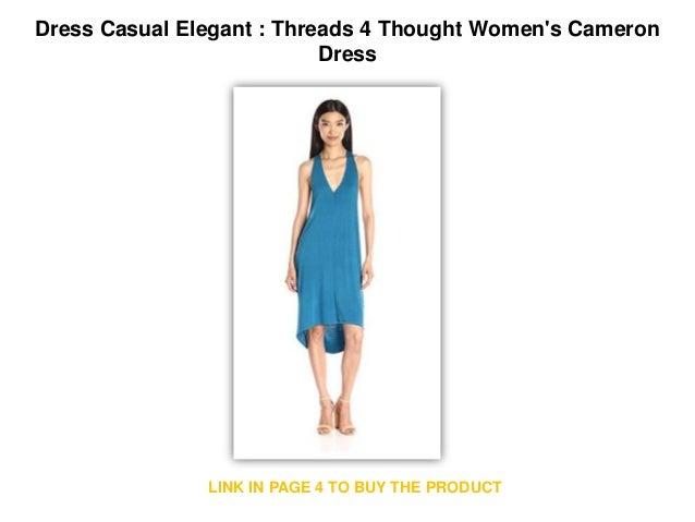 Dress Casual Elegant Threads 4 Thought Women S Cameron Dress Casual