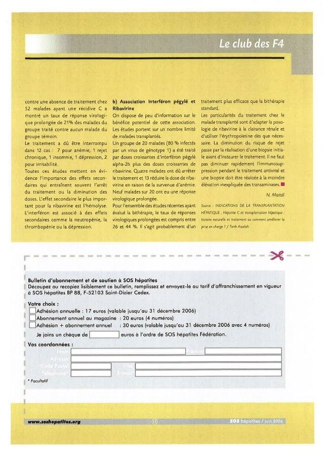 Bulletin d'informations N°35 Juin 2006