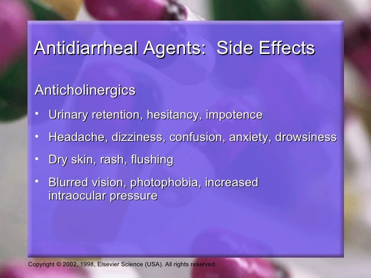 Loperamide Side Effects Diarrhea