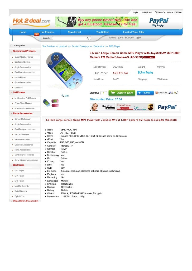 Login   Join Hot2deal   View Cart   0 items USD0.00            Home                  Hot Phones               New Arrival ...