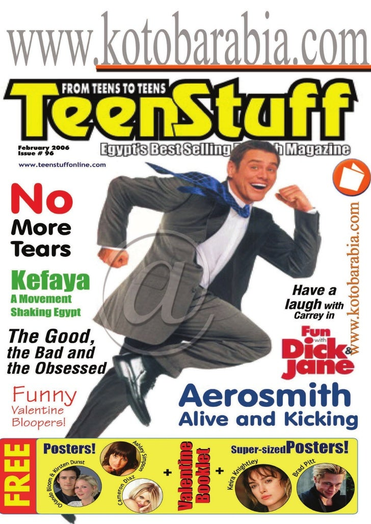 February 2006 Issue # 96  www.teenstuffonline.com