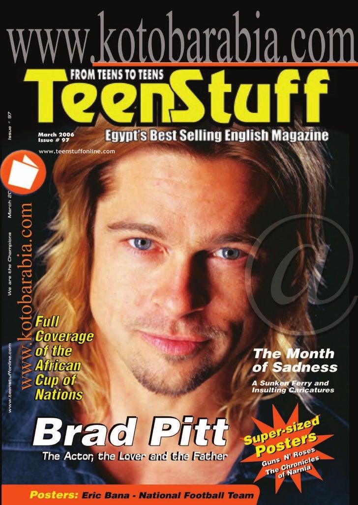 March 2006  Issue # 97   www.teenstuffonline.com                                               The Month                  ...