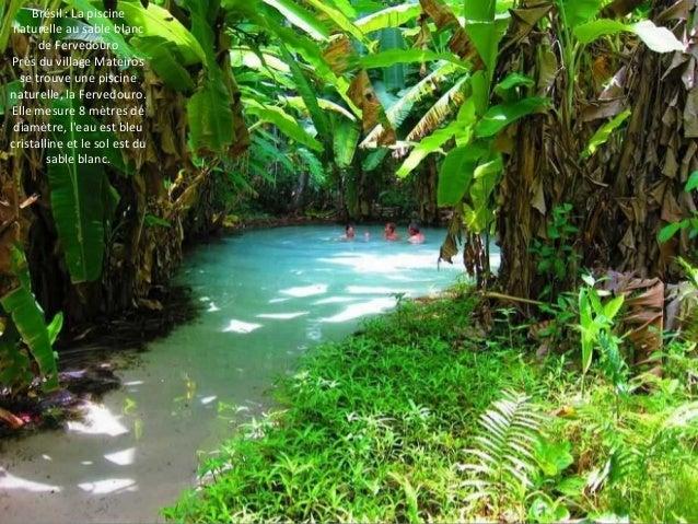 Brésil : La piscine  naturelle au sable blanc  de Fervedouro  Près du village Mateiros  se trouve une piscine  naturelle, ...