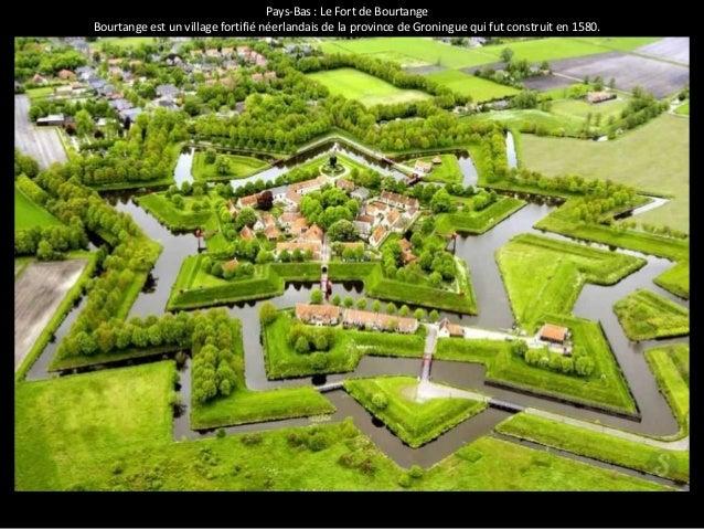 Pays-Bas : Le Fort de Bourtange  Bourtange est un village fortifié néerlandais de la province de Groningue qui fut constru...